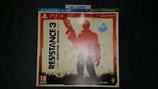 RESISTANCE 3 SURVIVOR EDITION COLLECTOR PS3 SONY NEUF VERSION FRANCAISE