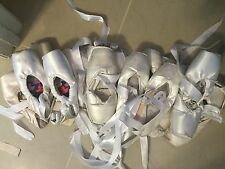 White Pointe shoes