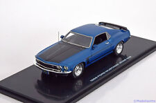 1:43 Highway 61 Ford Mustang Boss 302 1969 bluemetallic/black