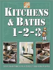 Kitchens & Baths 1-2-3 (Home Depot ... 1-2-3), Home Depot Books, Good Book