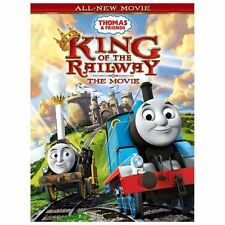 THOMAS & FRIENDS: KING OF THE RAILWAY - THE MOVIE (NEW DVD)