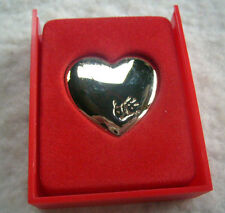 Vintage 'The Variety Club Gold Hart' Brooch,New in Original Gift Box.V.G.C.