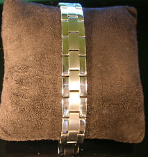 Mens Golf Bracelet 316L Stainless Steel Magnetic Therapy Orig. $ 76.-