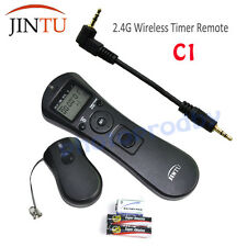 JINTU C1 Wireless Timer Intervalometer Remote Control for Canon XTi XS T2i T3i
