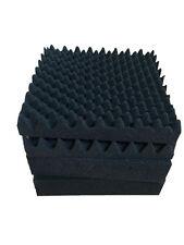 Soundproofing Foam in Wave shape and in Black acoustic foam
