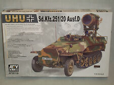AFV Club 1/35 Scale German Sd.Kfz.251/20 Ausf.D Uhu