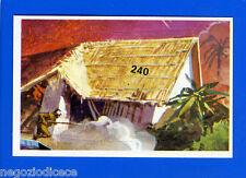BATTAGLIE STORICHE -Ed. Cox- Figurina/Sticker n. 240 - ABITAZIONE INDIGENA -New