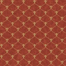 YORK PREPASTED WALLPAPER DOUBLE ROLL SM8483 ARCH SCROLL HARLEQUIN