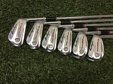 RARE Vintage 1963 Ben Hogan Golf IPT Iron Set 3-9 Right Steel SENIOR A Flex No 6