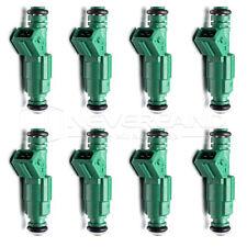 New Set (8) 42LB Fuel Injectors For Volvo 2.0L 2.3L 2.4L 2.5L Turbo EV1 440cc