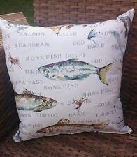Fisherman fish cushion cover