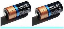 (Pack of 2)  Duracell Ultra DL123 3V Photo Lithium Battery CR123 EXP 2023