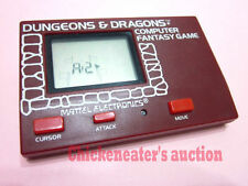 80s MATTEL HANDHELD D&D COMPUTER GAME DUNGEONS DRAGONS *WORKS* RETRO VINTAGE