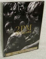 Korea 2PM GIVE ME LOVE Taiwan Ltd CD+DVD Ver.A (Japanese Single) digipak