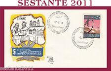 ITALIA FDC ROMA A 78 GIORNATA FARMACEUTICA INTERNAZIONALE 1970 ANN. RIMINI  Q310