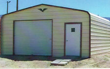 12 x 21 enclosed Metal Carport Cover, Garage, INSTALLED - View our eBay STORE!