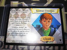 HARRY POTTER CARD TCG QUIDDITCH CUP SEAMUS FINNINGAN 25/80 RARE ENGLISH MINT