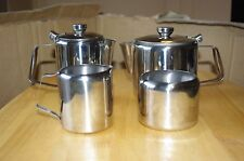 Vintage 18/8 Stainless Steel Tea Set  Rostfrei Inox