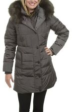 NWT Women's 1 Madison Luxe Down Water Repellent  Parka Winter Coat Size Medium