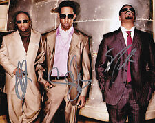 Boyz 2 II Men Signed Autographed 8x10 Motownphilly Wayna Nathan Morris +1 Proof