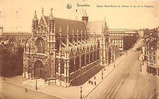 Br34955 Bruxelles Eglise Notre Dame du Sablon et Rue de la Regence     Belgium