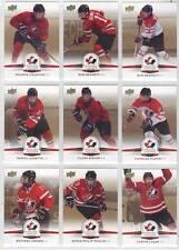 DANIEL AUDETTE CANADIENS 2014 TEAM CANADA JUNIORS HOCKEY GOLD SEPIA #22