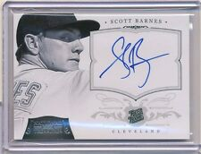 2012 PANINI NATIONAL TREASURES SCOTT BARNES AUTOGRAPH 36/99