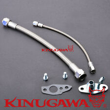 Kinugawa Turbo Oil Feed / Return Line Kit TOYOTA CT12 CT20 CT26 4AN / 8AN 35cm