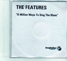 (DU568) The Features, A Million Ways To Sing The Blues - DJ CD