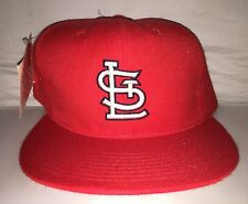 Vtg St. Louis Cardinals Fitted Hat NEW ERA deadstock size 7 5/8 90s NWT pujols