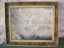 Cadre d'époque Art Déco, feui. 50,3 x 39 cm.