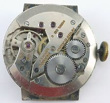 Vintage Benrus BB2 Wristwatch Movement - 15 Jewels - Parts / Repair