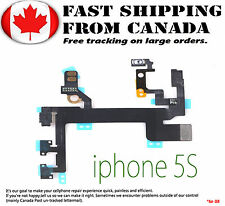 For iPhone 5S Power Mute Volume Button Switch Connector Flex Cable Ribbon