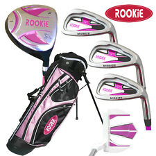 NEW JUNIOR GOLF SET 6 PIECE for KIDS 6 to 10yrs  HOT PINK - CHILDRENS GOLF CLUBS