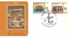 ITALY FIRST DAY COVER 1978 EUROPA
