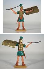 Timpo Toys Römer Roman Fehlfarbe grün gerade stehend