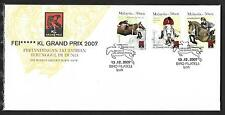 2007 MALAYSIA FDC - THE WORLD GREATEST HORSE SHOW