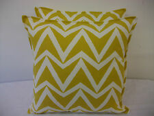 FABULOUS CUSHION COVERS IN HARLEQUIN SCION WABI SABI DHURRIE OLIVE