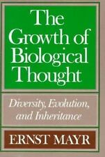 Vtg 1982 The Growth of Biological Thought Diversity Evolution and Inheritance