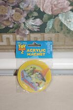 "New Disney Pixar Toy Story 2 ""Toy Crossing"" Magnet Buzz Lightyear Rex Hamm Pig"