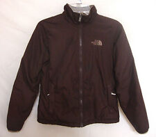 NORTH FACE Ski Jacket Brown Nylon Warm Lining Snowboard Winter Women Size Small