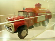 RUSSIAN ZIL 130 FIRE TRUCK COLOUR RED HANDBUILT BOXED SCALE 1:43