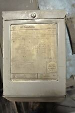 USED GE 0.5 KVA Transformer 9T51B   120/240 to 12/24 volt 1 phase Dry type