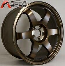 16X7 ROTA GRID WHEELS 5x114.3 SPORT BRONZE RIMS ET40MM (SET OF 4)