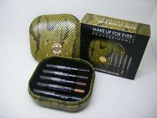 MAKE UP FOR EVER WILD & CHIC AQUA EYES EYELINER 5 PC TRAVEL SIZE EYE LINER SET