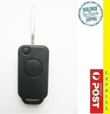 Mercedes Benz 1 Buttons remote KEY case Shell replacement with 4 track blade