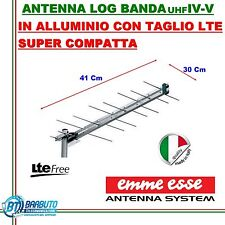 ANTENNA DIGITALE TERRESTRE HD MINI EMMEESSE UHF LOG SYSTEM ANTI INTERFERENZE