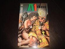 A1 #3 Grant Morrison Moebius  etc.  Atokema Press 1989