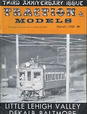 Traction & Models Magazine : March 1968 : Little Leigh Valley - Dekalb