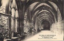 abbaye de saint wandrille, galerie du cloitre